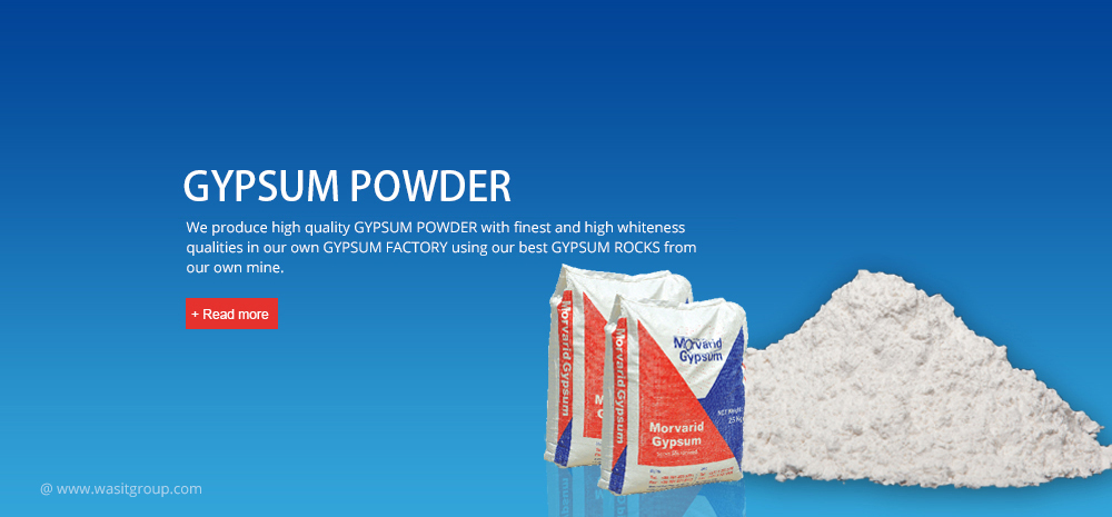 Gypsum powder WASIT-Group